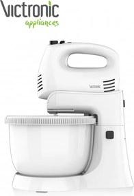 Mixer cu bol rotativ Victronic,300 W, 5 Viteze, Functie Turbo, 3.4 L