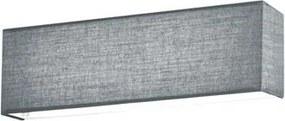 Trio LUGANO 271970611 Aplice perete alb gri incl. 1 x SMD, 6W, 3000K, 580Lm W:25cm, H:10cm, Ext:10cm