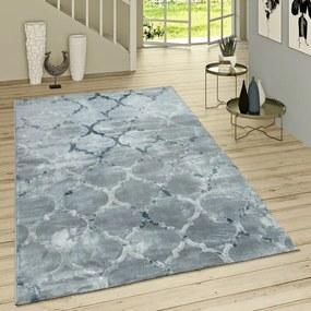 Covor Deeter Flatweave, albastru, 80 cm x 150 cm