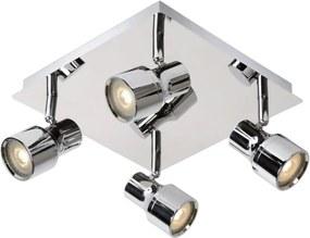 Lucide 17948/20/11 - LED Lampa spot baie SIRENE-LED 4xGU10/4,5W/230V