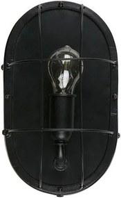 Aplica din metal negru Gabber