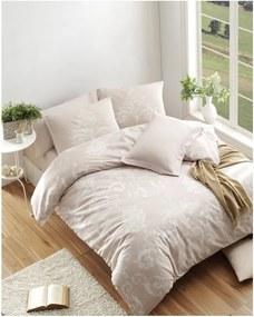 Lenjerie de pat și cearșaf Kralice Mink, 200 x 220 cm