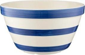 Bol din ceramică pentru budincă Mason Cash Basin, ⌀ 16 cm, albastru - alb