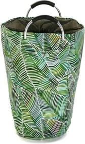 Coș din bumbac pentru rufe Versa Tropical, înălțime 58 cm