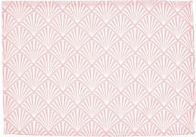 Suport textil pentru farfurie Green Gate Celine, 40 x 50 cm, roz
