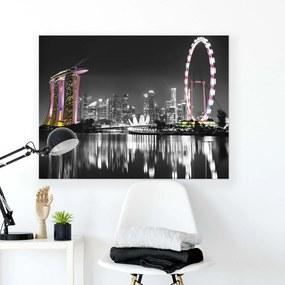 GLIX Tablou - Modern City III 100x75 cm