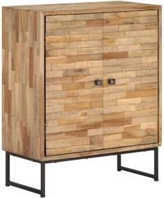 vidaXL Servantă din lemn de tec reciclat, 60 x 30 x 75 cm