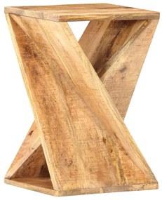 286183 vidaXL Masă laterală, 35 x 35 x 55 cm, lemn masiv de mango