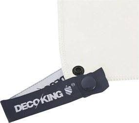 Prosop cu uscare rapidă DecoKing EKEA, 70 x 140 cm, bej deschis
