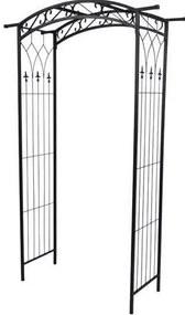 Arcada metalica, pergola, pentru gradina, 105x46x215 cm
