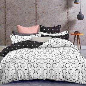 Lenjerie de pat din microfibră DARKNIGHT lungime standard