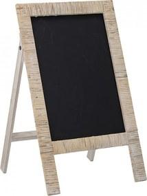 Tabla de scris din lemn si ratan Lika Bloomingville Mini