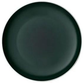 Farfurie intinsa din portelan, It's my Match Uni Alb / Verde, 24 cm, Villeroy & Boch