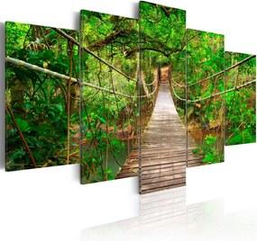 Tablou Bimago - Walk among the trees 100x50 cm