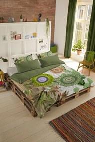 Home lenjerie de plapuma reversibila pentru pat dublu Hip Bodhini 200x200/220cm
