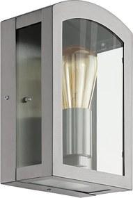 Eglo 97477 - Aplica perete exterior PARETTA 1xE27/60W/230V crom mat