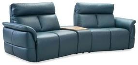 Canapea 2 locuri cu recliner si bar Oviedo La comanda, orice culoare., 108 cm, 264 cm, 89 103 cm, Canapea 2 locuri cu recliner piele naturala