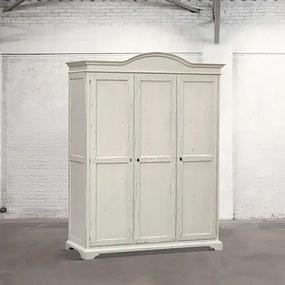 Dulap dormitor Dialma Brown lemn alb DB002684