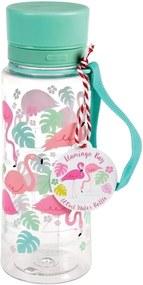 Sticlă de apă Rex London Flamingo Bay, 600 ml