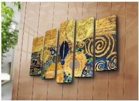 Tablou din mai multe piese Golden Hour, 105 x 70 cm