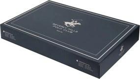 Lenjerie de pat cu cearșaf Beverly Hills Polo Club Firby, 200 x 220 cm