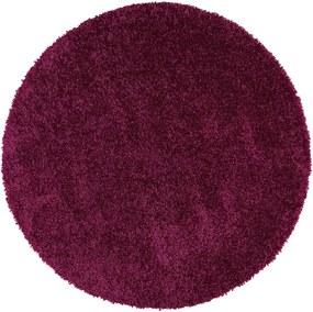 Covor rotund Universal Aqua Liso, ⌀ 80 cm, violet