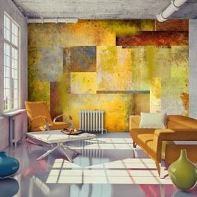 Fototapet - Orange Hue of Art Expression 350x245 cm