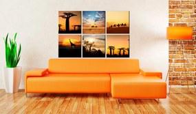 Tablou - African sceneries 60x40 cm