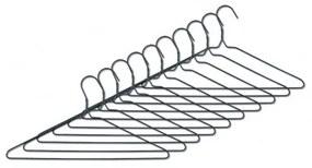 Set umerase metalice, Scandi Gri, l40xH21,3 cm, 10 bucati