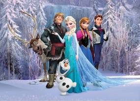 Fototapet Disney pentru camere copii - Frozen