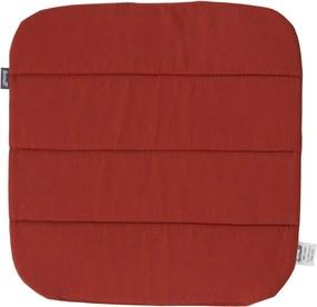 Pernă antiderapantă pentru scaun grădină Hartman Sophie, 40 x 40 cm, roșu