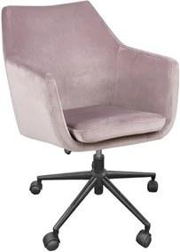 Scaun de birou Actona Nora, roz