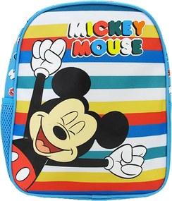 Ghiozdan gradinita mini Pigna Mickey Mouse albastru multicolor MKRS1828-1