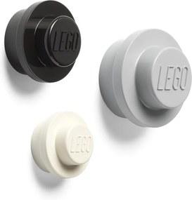 Set 3 cuiere pentru perete LEGO® Black And White
