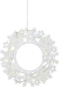 Decoratiune luminoasa suspendabila alba din plastic Prince Markslojd
