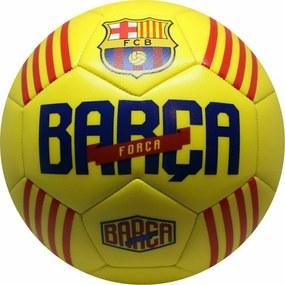 Minge de fotbal Marimea 5 Catalunya Fc Barcelona, Galben