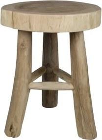 Taburet/scaun din lemn HSM collection
