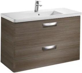 Set mobilier de baie cu lavoar, Roca The Gap 100x44xH65 cm, tec -A855999150