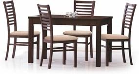 ERNEST 120/160 cm masă nuc închis (120-160x70x75 cm)