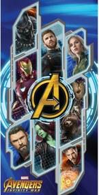 Prosop de corp Avengers Infinity war, 70 x 140 cm