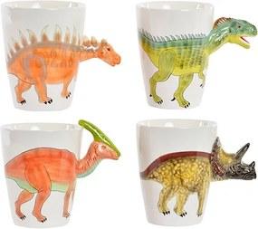 Cana Dinozaur din portelan 14x9 cm - 4 modele la alegere