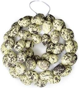 Dekorativní Věneček s vajíčky, pr. 20 cm