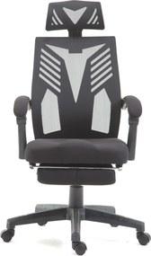 Scaun ergonomic, suport picioare, SIB 878B