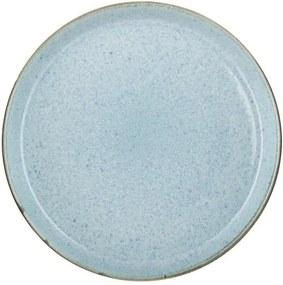 Farfurie din gresie ceramică Bitz Mensa, ⌀ 27 cm, albastru deschis