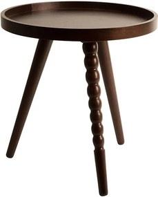 Masa rotunda din lemn pentru cafea Arabica S Dutchbone