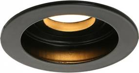 Spot negru din metal si plastic Pelite Steinhauer