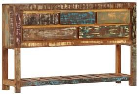 247478 vidaXL Servantă, 120 x 30 x 75 cm, lemn masiv reciclat