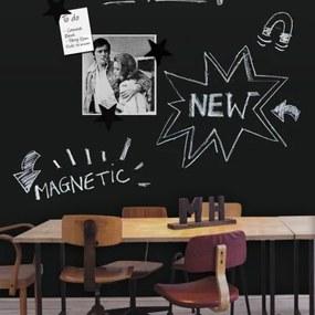 Tapet magnetic clasic - tablă de scris magnetică-122x100