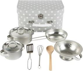 Set de bucătărie pentru copii Sass & Belle, gri