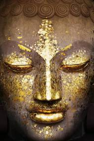 Buddha - face Poster, (61 x 91,5 cm)